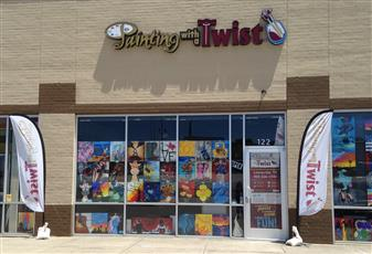 Painting with a Twist - Lewisville, TX